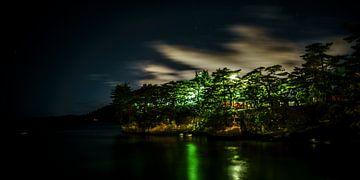 matsushima baai bij nacht van Stefan Havadi-Nagy