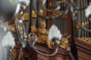 Engelsorgel Lutherse Kerk, Den Haag von Rossum-Fotografie