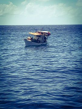 Eenzame kooplieden ter zee van Natascha Meriana