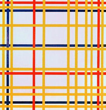 New York City 1, Piet Mondrian