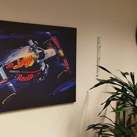 Kundenfoto: Max Verstappen von Nylz Race Art