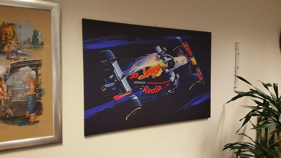 Klantfoto: Max Verstappen van Nylz Race Art