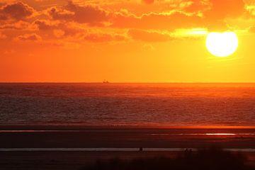 Schiermonnikoog Sunset van