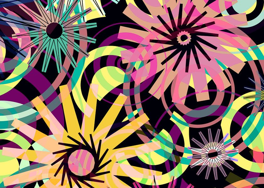 Pattern-3c Wild Thing van Pia Schneider