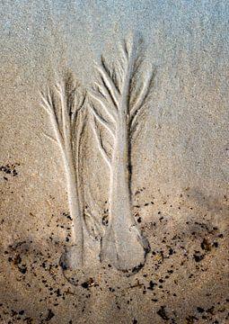 Art sur sable sur Greetje van Son
