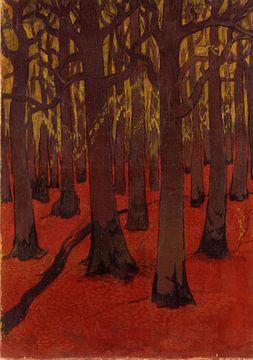 Georges Lacombe-Rotes Waldland