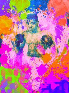 Muhammad Ali Pop Art PUR