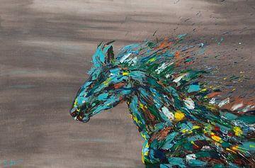 Pferd (Colors of the Wind) von Kim van Beveren