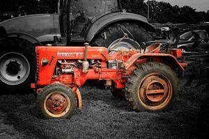 Trecker Traktor Oldtimer van