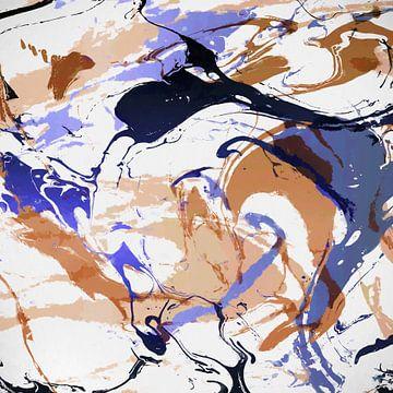 Abstracte samenstelling 1038 van Angel Estevez