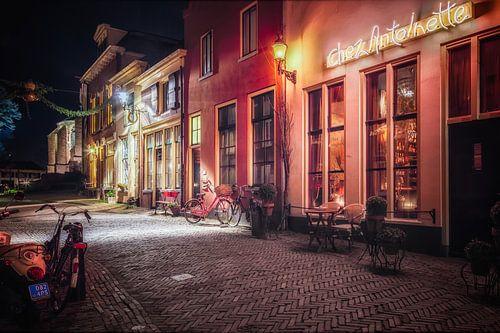 Deventer at Night, Roggestraat 2014 van