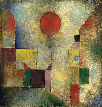 Paul Klee. Ballon rouge
