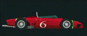 Ferrari 156 Haaienneus 1961 zijaanzicht