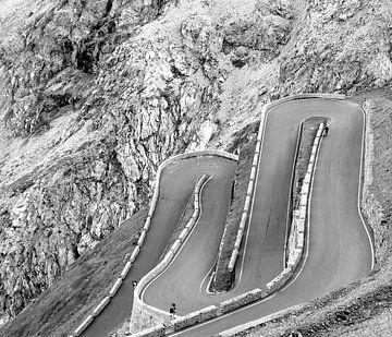 Stilfser Joch (Passo dello Stelvio), Italien von Dirk Jan Kralt