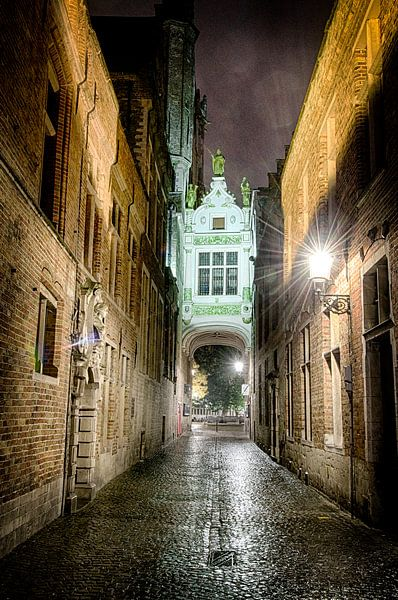 Steeg in Brugge van Mark Bolijn