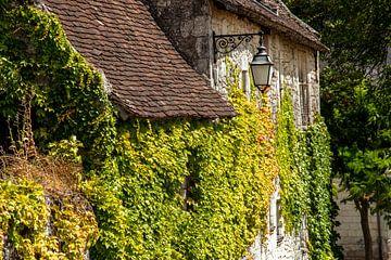 Charakteristisches französisches Dorf auf dem Land von Fotografiecor .nl