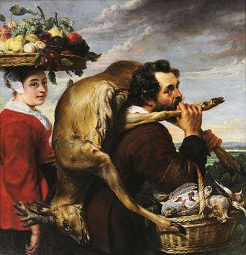 Figuren mit Obst und Wild, Frans Snijders