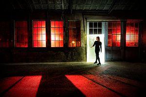 Lightpainting Oude Smederij Epe van Liesbeth van Asselt