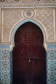 Deur in Marokko van Patrycja Polechonska