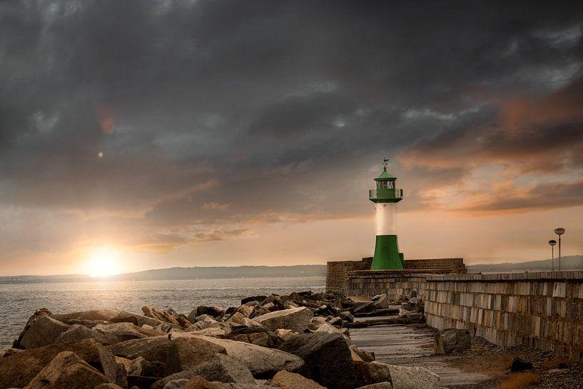 Leuchtturm von Sassnitz von Sergej Nickel