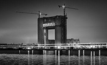 Ponton bei Nacht von Dutch Creator