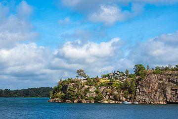 Landschaft bei Slussen in Schweden von Rico Ködder