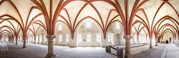 Altes Gewölbe im Zisterzienserkloster Eberbach van Christian Müringer