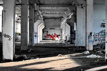 Verlaten fabriek van Assia Hiemstra