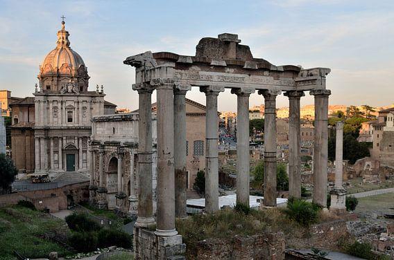 Forum Romanum, Rome, Italië
