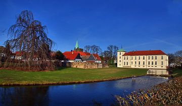 Westerholt kasteel panorama van Edgar Schermaul