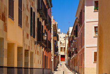 Smalle straat in de oude stad van Yevgen Belich