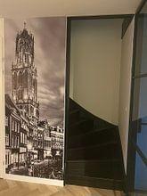Photo de nos clients: Utrecht - Vismarkt ZwartWit 02 sur Thomas van Galen, sur fond d'écran