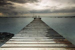 Steiger aan het Gardameer