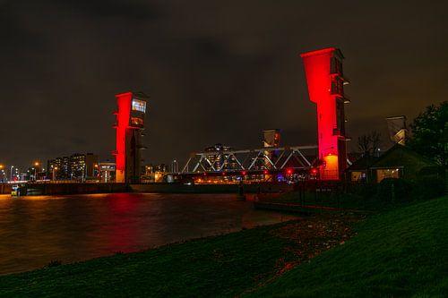 Stormvloedkering Hollandse IJssel van Twan Aarts