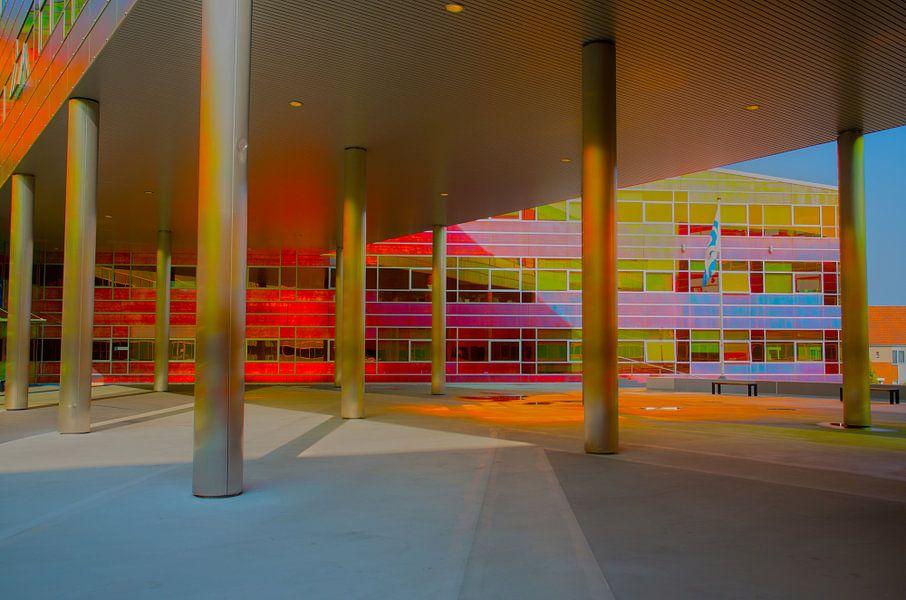 Belastingdienst Kantoor Utrecht : Kantoor uwv belastingdienst almere van juul baars op canvas