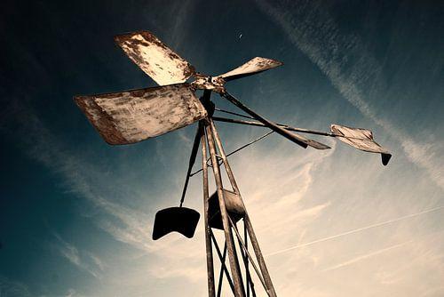 Oude windvaan van Tammo Strijker