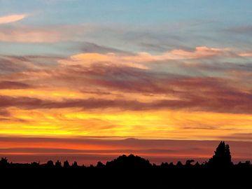 Sonnenuntergang über Utrecht von Andre Brands