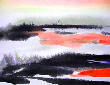 dramatic landscape van M.A. Ziehr