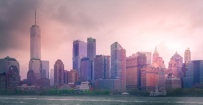 Down Town Manhattan van Dennis Donders