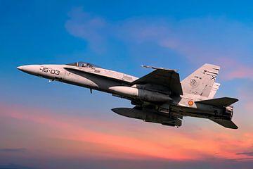 F/A-18 Hornet sur Gert Hilbink