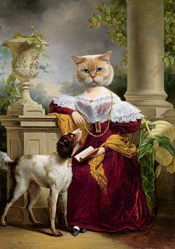 Portret van Alida van Marja van den Hurk