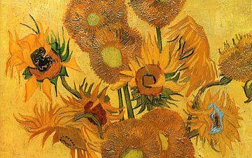 Van Gogh Zonnebloemen van Rudy & Gisela Schlechter