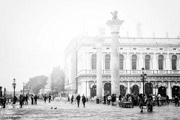 Venetie in de mist von Lia Perquin