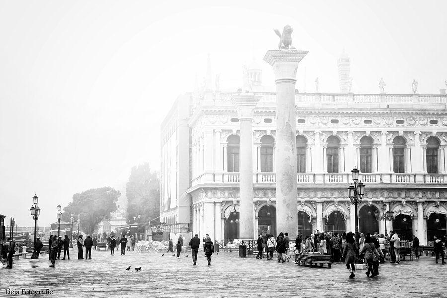 Venetie in de mist