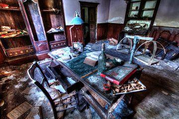 Am Schreibtisch von Capturedlight.nl Annet & Michel
