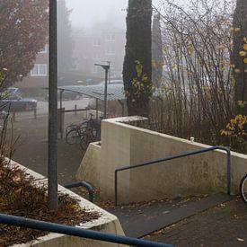 Laat in de herfst in Hamburg 4 van Marc Heiligenstein