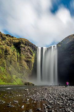 Skogafoss Waterval IJsland von Marco Schep