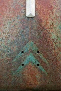 Rostigen und alte Citroen 2CV von Halma Fotografie
