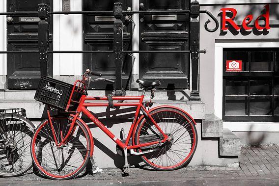 The Red Bike District van Scott McQuaide