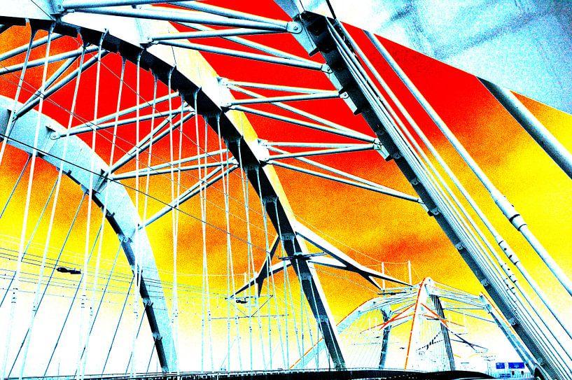 Bridge 1 Y-burg van Ernst van Voorst